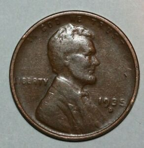 1935 D LINCOLN CENT