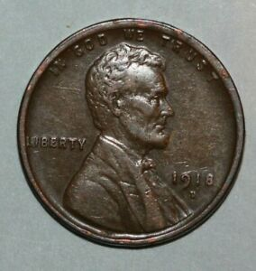 1918 D LINCOLN CENT