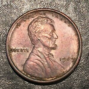 1909 LINCOLN CENT   HIGH QUALITY SCANS J766