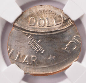 Click now to see the BUY IT NOW Price! NGC $1 1976 EISENHOWER DOLLAR STRUCK ON DIME PLANCHET & DOUBLE STRUCK MS65