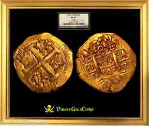 Click now to see the BUY IT NOW Price! PERU 8 ESCUDOS 1747 NGC 63  SHIPWRECK LA LUZ  POP 1 GOLD DOUBLOON COIN SHIPWRECK