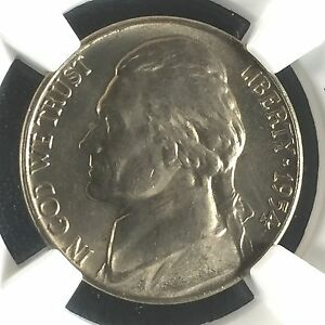 Click now to see the BUY IT NOW Price! 1954 D 5C FS JEFFERSON NICKEL NGC MS66 5FS         4198429 001C