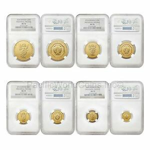 Click now to see the BUY IT NOW Price! UKRAINE 2014 ARCHANGEL MICHAEL 4PC GOLD NGC MS70 SET