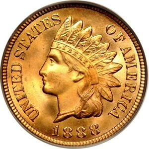 Click now to see the BUY IT NOW Price! 1888 1C INDIAN CENT PCGS MS66RD  CAC/PHOTO SEAL