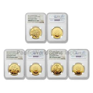 Click now to see the BUY IT NOW Price! CANADA 2006 2009 2011 PROVINCIAL FLORAL SERIES 3PC GOLD NGC PF69 ULTRA CAMEO SET