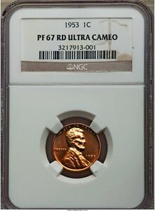 Click now to see the BUY IT NOW Price! 1953 LINCOLN WHEAT CENT PENNY 1C NGC PF67 PR67 ULTRA DEEP CAMEO POP  5/2