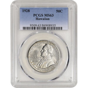 Click now to see the BUY IT NOW Price! 1928 US HAWAIIAN SESQUICENTENNIAL SILVER COMMEMORATIVE HALF DOLLAR   PCGS MS63