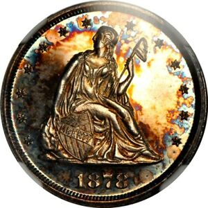 Click now to see the BUY IT NOW Price! 1878 20C TWENTY CENT NGC PR63 CAMEO