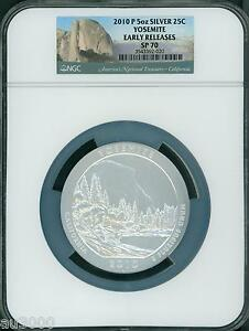 Click now to see the BUY IT NOW Price! 2010 P YOSEMITE NP AMERICA BEAUTIFUL ATB 5 OZ SILVER NGC SP70 EARLY RELEASES ER
