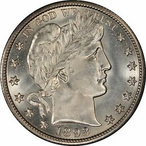 Click now to see the BUY IT NOW Price! 1893 O 50C BARBER HALF DOLLAR PCGS MS66  CAC