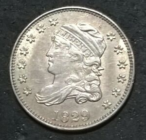 1829 CAPPED BUST HALF DIME  HIGH GRADE