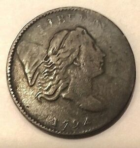 1794  LIBERTY CAP HALF CENT  VF  NICE COIN