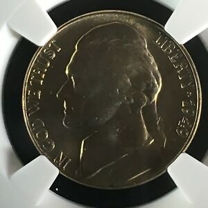 Click now to see the BUY IT NOW Price! 1949 5C FS JEFFERSON NICKEL NGC MS66 5FS       2713660 005C