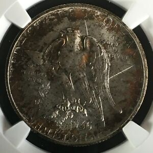 Click now to see the BUY IT NOW Price! 1936 S 50C TEXAS COMMEMORATIVE HALF NGC MS68        2670261 005C