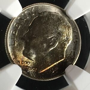 Click now to see the BUY IT NOW Price! 1954 S 10C FB ROOSEVELT DIME NGC MS68FT         2713548 007C