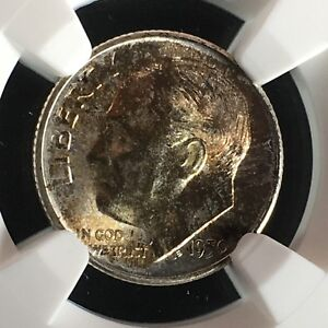 Click now to see the BUY IT NOW Price! 1950 S 10C FB ROOSEVELT DIME NGC MS68FT         2713529 009C