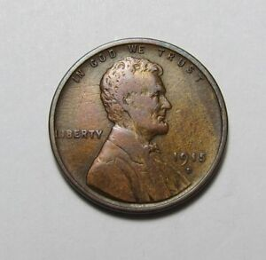 1915 D LINCOLN WHEAT CENT   NICE TEEN PENNY     COMBINED SHIPPING   LOT N84