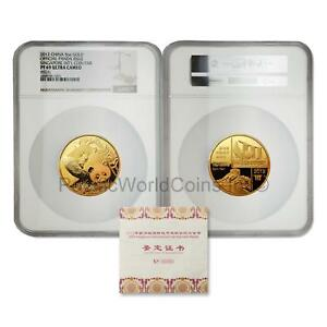 Click now to see the BUY IT NOW Price! CHINA 2012 SINGAPORE INTERNATIONAL COIN FAIR PANDA 5 OZ GOLD NGC PF69 WITH COA
