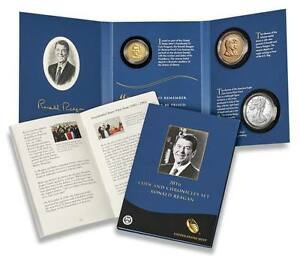 16PA RONALD REAGAN 2016 COIN & CHRONICLES SET US MINT