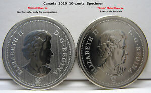 Click now to see the BUY IT NOW Price! RCM   2010   10 CENTS   SPECIMEN   UNCIRCULATED