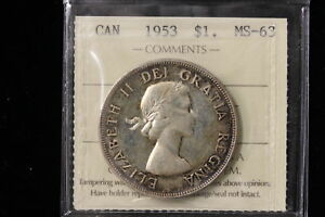 Click now to see the BUY IT NOW Price! 1953 CANADA. 1$ DOLLAR.