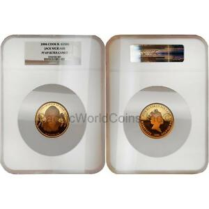 Click now to see the BUY IT NOW Price! COOK ISLANDS 2006 JACK NICKLAUS $500 GOLD NGC PF69 ULTRA CAMEO SKU2546