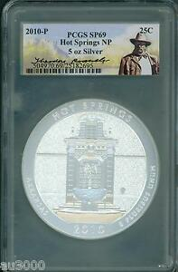 Click now to see the BUY IT NOW Price! 2010 P HOT SPRINGS NP ATB 5 OZ. SILVER PCGS SP69 THEODORE ROOSEVELT SP 69