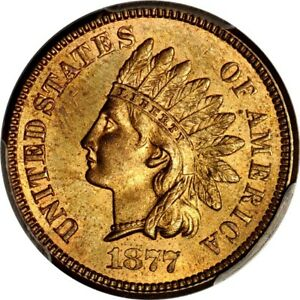 Click now to see the BUY IT NOW Price! 1877 1C INDIAN CENT PCGS MS64RD  PHOTO SEAL