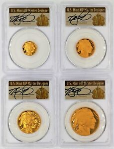 Click now to see the BUY IT NOW Price! 2008 W PROOF GOLD BUFFALO SET PR70 PCGS THOMAS CLEVELAND ART DECO  $5 10 25 50
