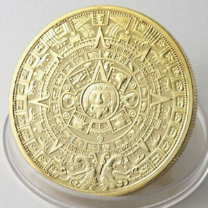 THE PROPHECY OF THE MAYAN LONG COUNT CALENDAR COMMEMORATIVE COIN COLLECTION NEW