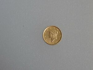 1851 GOLD DOLLAR $1 GOLD LIBERTY HEAD TYPE 1