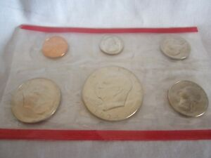 UNITED STATES SEALED SIX COINS SET 1974  CH