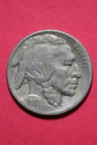 1923 P BUFFALO INDIAN NICKEL EXACT COIN PICTURED FLAT RATE SHIPPING OCE 753