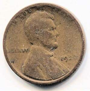 U.S. 1920 D LINCOLN WHEAT PENNY   AMERICAN ONE CENT COIN   DENVER MINT
