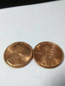1990 P & D UNCIRCULATED LINCOLN CENT