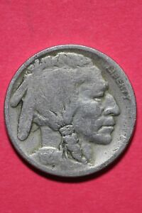 1921 P BUFFALO INDIAN NICKEL EXACT COIN PICTURED FLAT RATE SHIPPING OCE 277