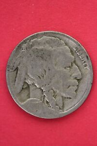 1917 P BUFFALO INDIAN NICKEL EXACT COIN PICTURED FLAT RATE SHIPPING OCE0033