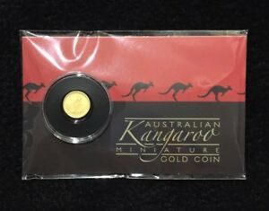 2016 PERTH MINT AUSTRALIA .5 GRAM KANGAROO MINI ROO GOLD COIN