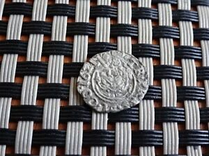 AUTHENTIC MEDIEVAL HUNGARY SILVER DINAR 1621 FERDINAND II 1619 1637 AD.