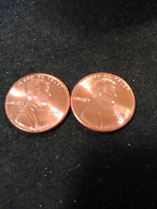 2011 P & D UNCIRCULATED LINCOLN CENTS