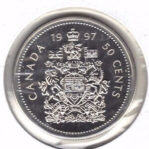 CANADA 1997 SPECIMEN 50 CENT COIN FROM MINT SET