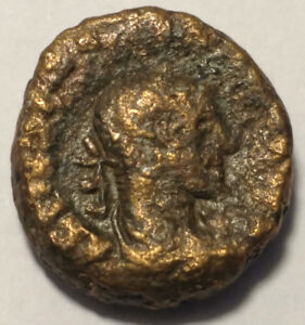 ROMAN PROVINCIAL COIN   TETRADRACHM FROM ALEXANDRIA EGYPT. 17MM   UNKNOWN EMP.