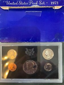 1972 UNITED STATES MINT PROOF SET COMBINED SHIPPING