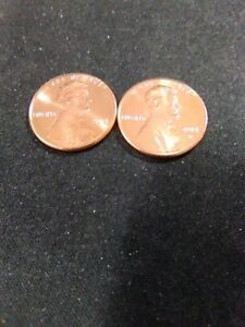 2014 P & D UNCIRCULATED LINCOLN CENTS
