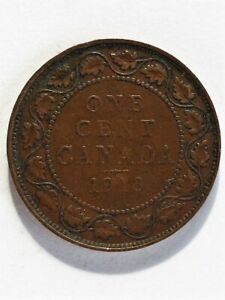 1913 CANADA 1 CENT  A