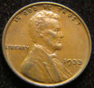 1933 LINCOLN WHEAT CENT CH. EXTRA FINE ORIGINAL PENNY 1C NICE XF  COIN 8126CS