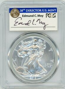 Click now to see the BUY IT NOW Price! 2015  P  $1 SILVER EAGLE PCGS MS70 STRUCK AT PHILADELPHIA ED MOY