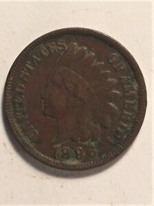 1896 US  1 CENT INDIAN HEAD