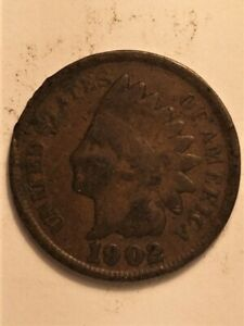 1902 US  1 CENT INDIAN HEAD  B
