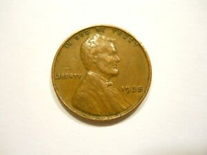 1935 P U.S. WHEAT CENT